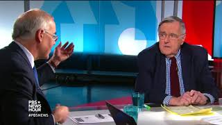 Shields and Brooks on government shutdown blame, Trump's first year thumbnail