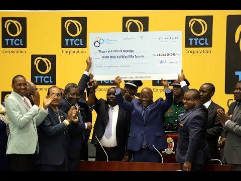TTCL Yatusua! Mkongo Wa Taifa, Video Conference & Data Center Zaibeba