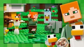 Chicken Coop - LEGO Minecraft - 21140 - Stop Motion thumbnail