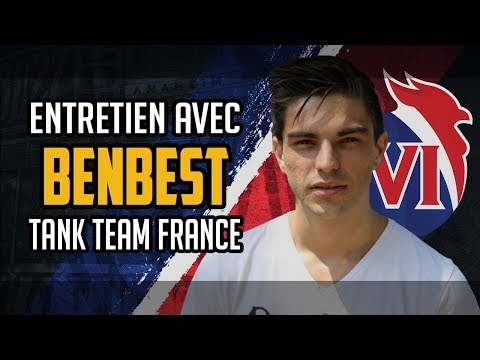 Meeting with BenBest : main tank for Team France in the 2018 OWWC