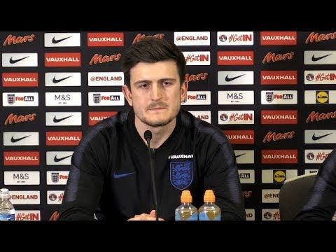 Harry Maguire Pre Match Press Conference | England v Netherlands | Friendly | Wembley Stadium