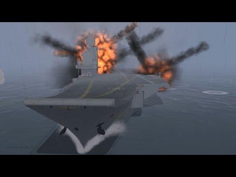 【DCS:World】 アメリカ・ロシア 空母艦隊決戦【デジタルブンドド】