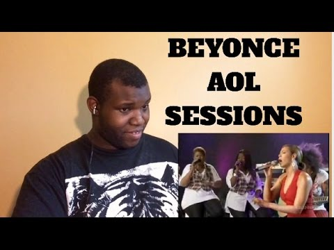 Beyonce AOL Sessions Live