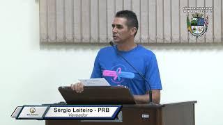 39ª S. Ordinária - Sérgio Leiteiro