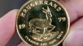 Buying a 1oz Gold Coin