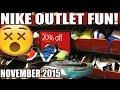 Nike Outlet Shopping! WTKD7? OG Prestos, Jordans, Lebrons, SBs Etc (Nov 2015)