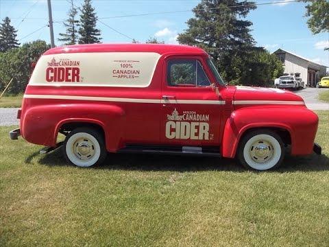 1955 Panel Delivery Van  Beer Truck Molson Apple Cider, lastchanceautorestore.com