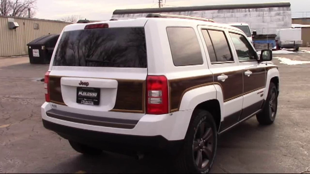 Wood Panel Graphics Kit 1 for Jeep Patriot - Wood Panel Graphics Kit 1 For Jeep Patriot - YouTube
