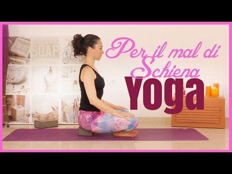 Esercizi yoga contro il mal di schiena