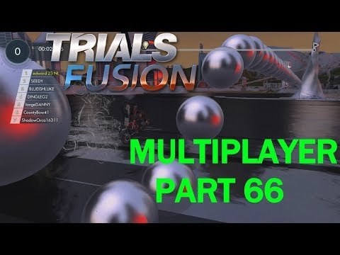 let,s play TRIALS FUSION xbox one MULTIPLAYER #66 with gaming cave and friends