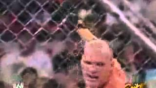WWE Raw (2004) - Randy Orton vs Kane (Steel Cage Match) - Part 2