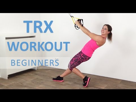 10 Minute TRX Workout For Beginners – Effective Bodyweight Suspension Training