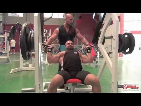 Entrenamiento Hombro, Sergio Fernandez y Julio Portet, para Muscular Development, FitnessLand Canet
