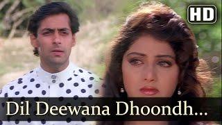 Dil Deewana Dhoondh Raha Hai - Salman Khan - Sridevi - Chand Ka Tukda - Bollywood Songs