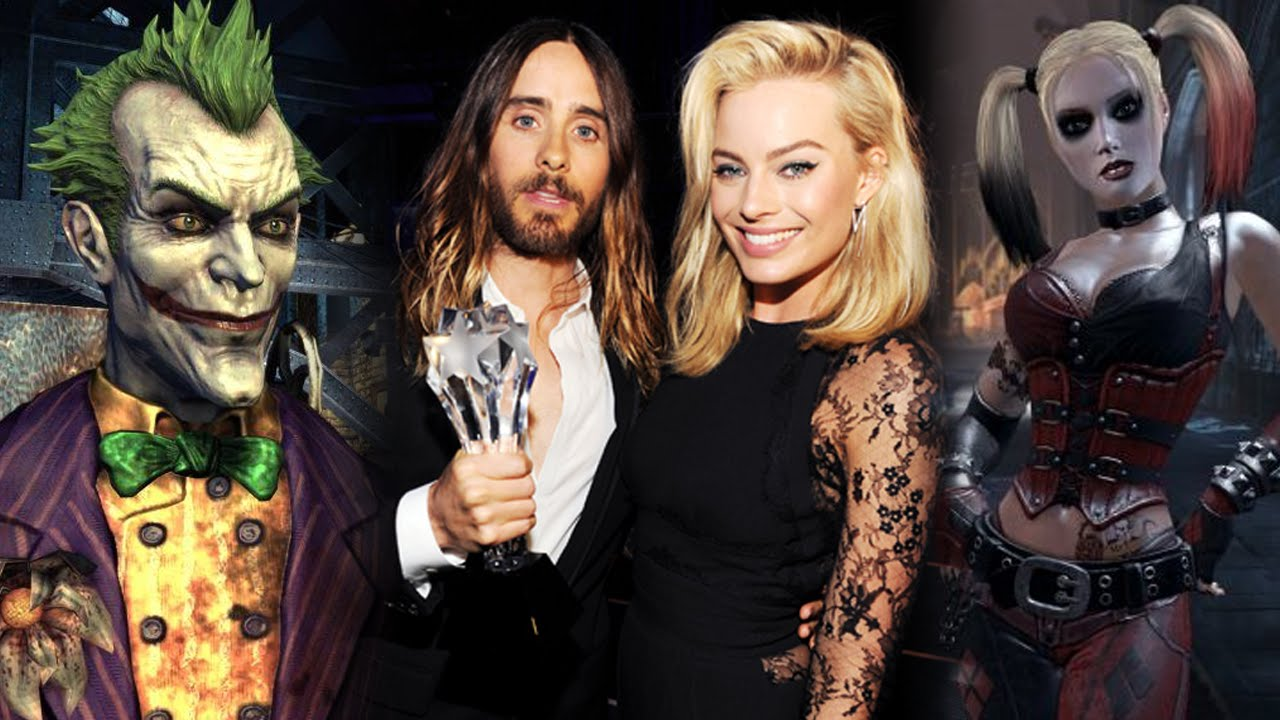 Jared leto fights kisses margot robbie for suicide squad