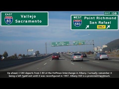 (SP04 EP03) I-580 West & I-80 East, Castro Valley to Vallejo