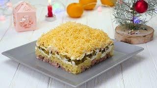 Как приготовить салат «Египетская пирамида» - Рецепты от Со Вкусом