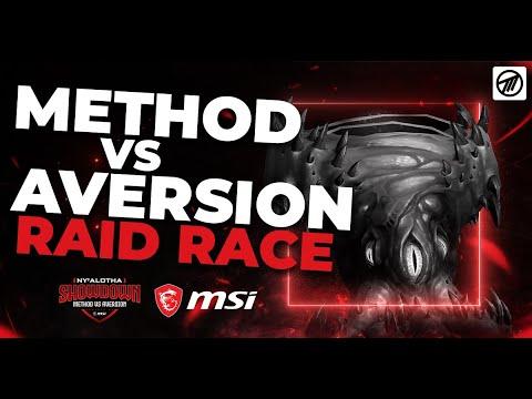 SUB 80 MINUTE NY'ALOTHA MYTHIC CLEAR! Method Vs Aversion Raid Race FULL RACE!