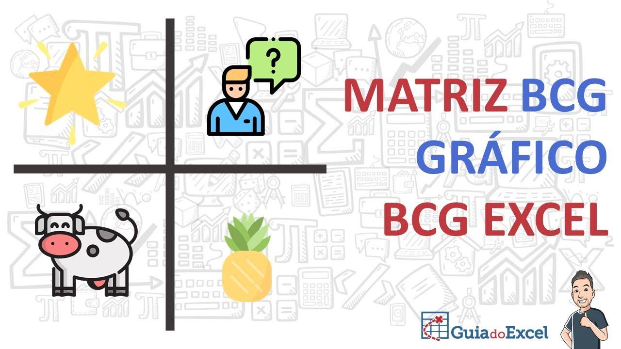 Matriz Bcg Excel Ou Gráfico Bcg Excel Youtube