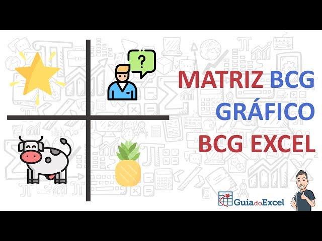 Matriz BCG Excel ou Gráfico BCG Excel