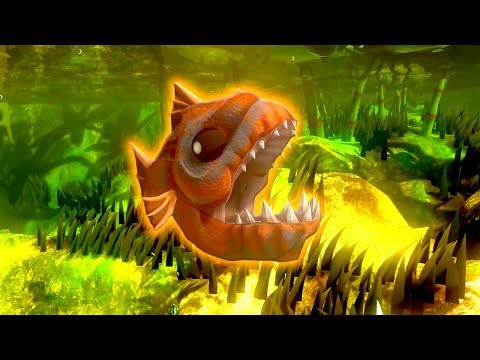 MATANDO O SWAMP LURKER COM UBUR LEVEL 30 | Fish Feed and Grow