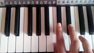 Arere Avala Naguva song in keyboard | Sarkari Hi. Pra. Shaale movie | Arere Avala Naguva song notes|