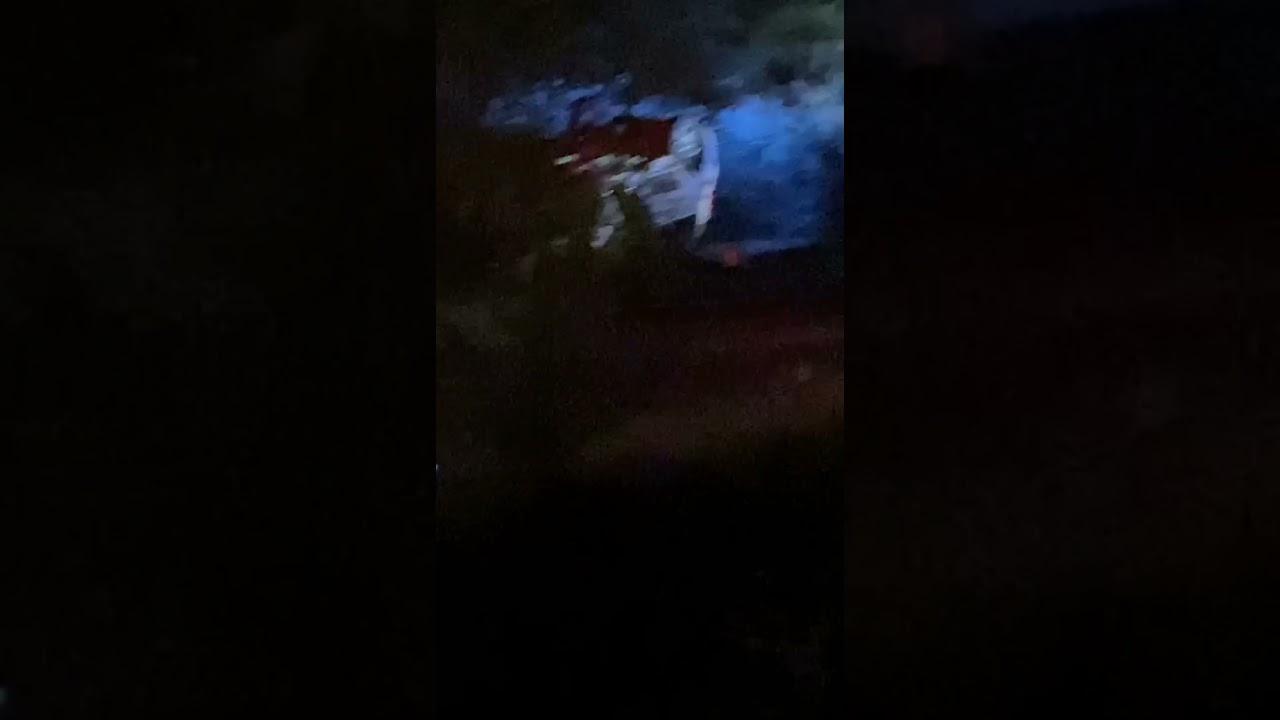 Urgente: Vídeo mostra grave acidente na estrada Conquista-Anagé; assista - Blog do Rodrigo Ferraz