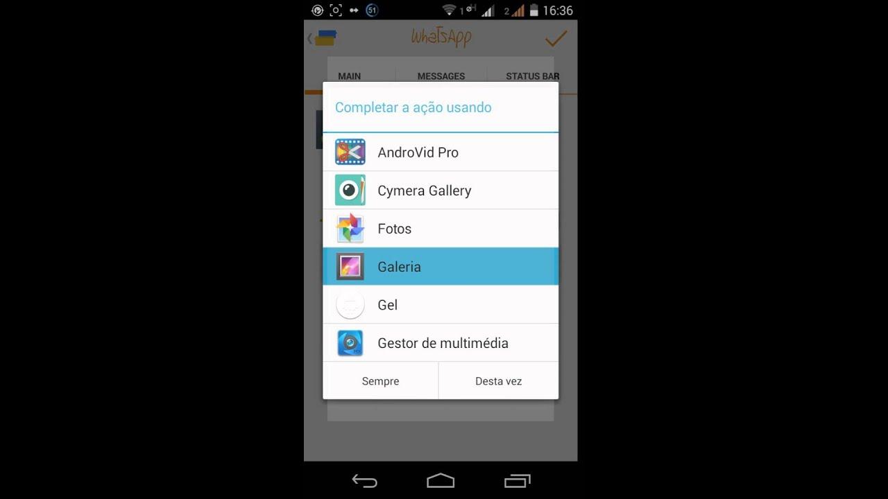 Como criar conversas falsas no Whatsapp (Android) - YouTube