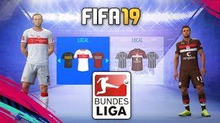 FIFA 19 | KITS & RATINGS BUNDESLIGA - BUNDESLIGA 2