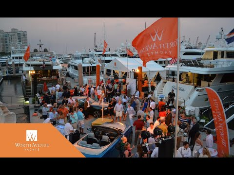 Worth Avenue Yachts at the Palm Beach International Boat Show