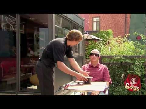 Blind Man Eats Bird Poop Soup