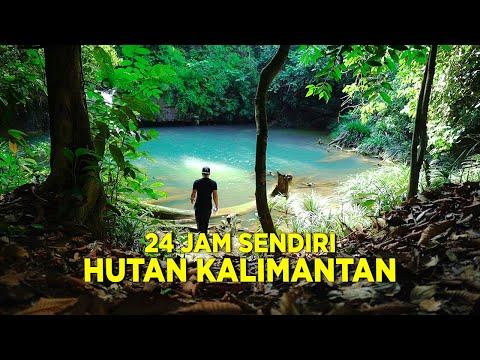 Solo Camping : 24 Jam Sendirian Di Hutan Kalimantan