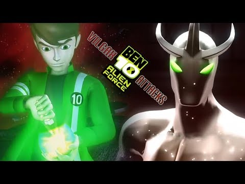 Ben 10 Alien Force: Vilgax Attacks All Cutscenes | Full Game Movie (X360, PS2, PSP, Wii)