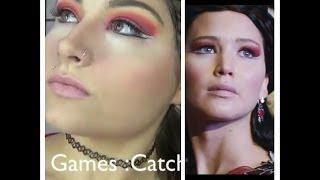 the hunger games catching fire katniss everdeen inspired makeup and hair tutorial