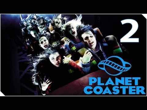 PLANET COASTER | CAPITULO 2 | LIBERAD AL KRAKEN!! Mi parque es la hostia :v