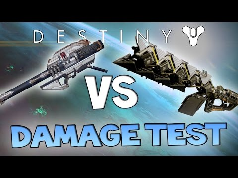 Destiny Gjallarhorn vs Sleeper Simulant (Damage Test) | Best Exotic?