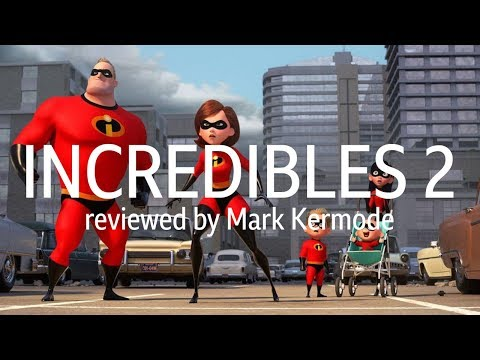 Incredibles 2 reviewed by Mark Kermode