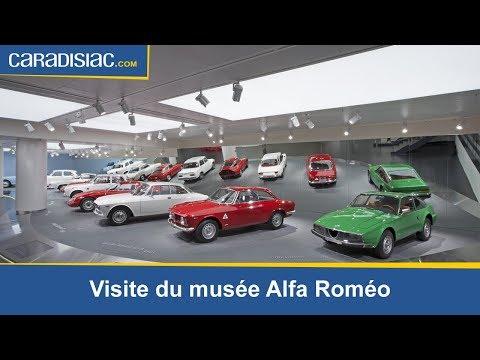 Visite de musée Alfa Romeo à Arese