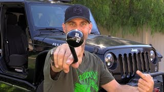 The Jeep Wrangler T-Case Shift Handle You Never Knew You WANTED SO MUCH!
