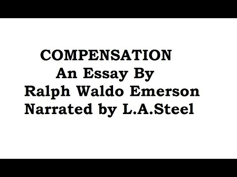 """Compensation"", Essay by R W Emerson  narrated by L.A.Steel 1999"