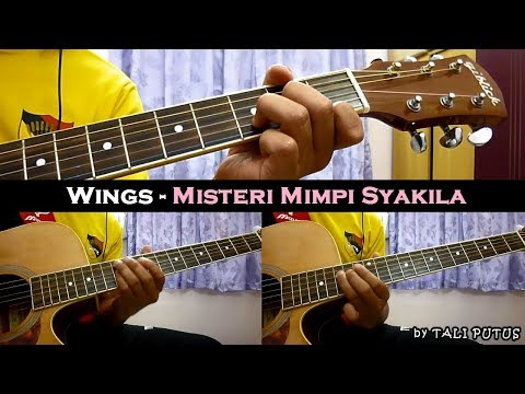 Wings - Misteri Mimpi Syakila (Instrumental/Full Acoustic/Guitar Cover)
