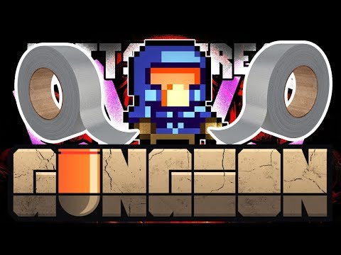 Duct Tape Challenge Run LIVE - Hutts Streams Enter the Gungeon