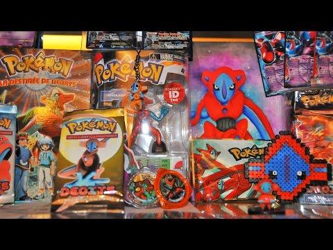 Ma collection Pokémon DEOXYS ! Cartes Pokémon Ultra-Rares ! Figurines ! DVD Pokémon ! Peluches #1