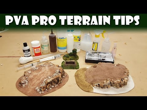 PVA Pro Tips for Terrain Builders!