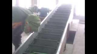 скребковый конвейер(Пусконаладка скребкового конвейера., 2014-05-20T14:07:09.000Z)