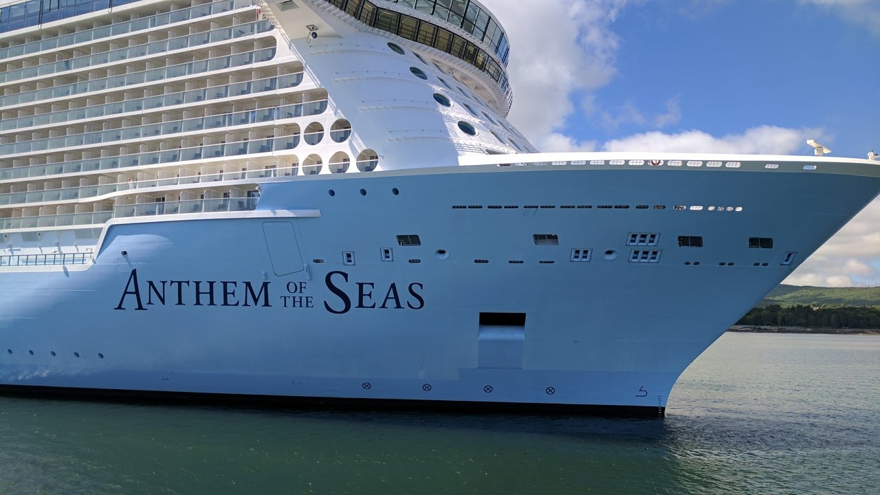 Anthem Of The Seas In Bar Harbor YouTube - Cruise ship bar harbor