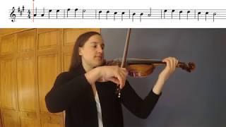 Twinkle Twinkle Little Star Violin Duet Play-a-Long