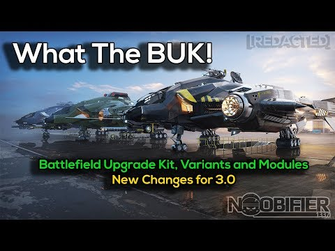 What The BUK? New Module and Hardpoint Changes for Patch 3.0 - Star Citizen