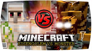 eisengolem vs pumpkin golem alter   minecraft eisengolem vs monster 58   pumpkin patch mod