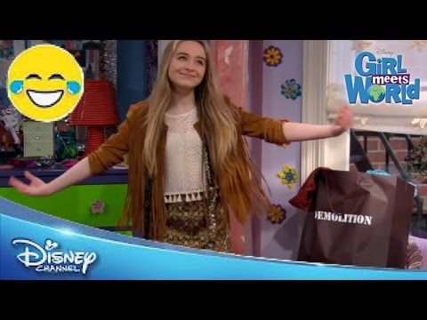 Girl Meets World | New Clothes! | Official Disney Channel US